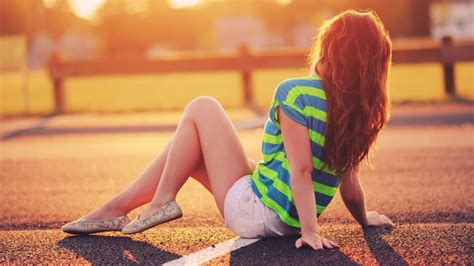 wallpaper laptop girl girl on the road high definition wallpapers hd wallpapers