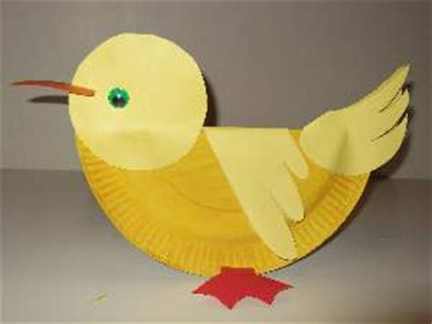 Duck Paper Plate Craft - paper plate duck craft or mask pictures