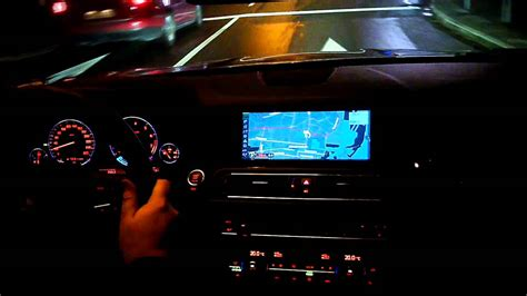 Bmw 535i F10 Dashboard In The Night Armaturenbrett
