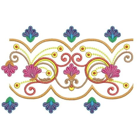 flower design with ribbon flower ribbon embroidery designs 3 embroideryshristi