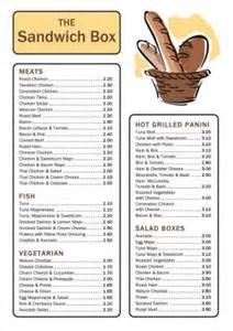 sandwich shop menu template sandwich shop template 001