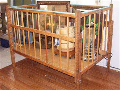 Port A Crib by Junk Sophisticate Vintage Port A Crib Redo