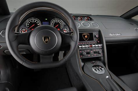 Lamborghini Gallardo Bicolore interieur
