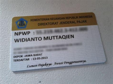 membuat npwp kpp membuat npwp satu jam