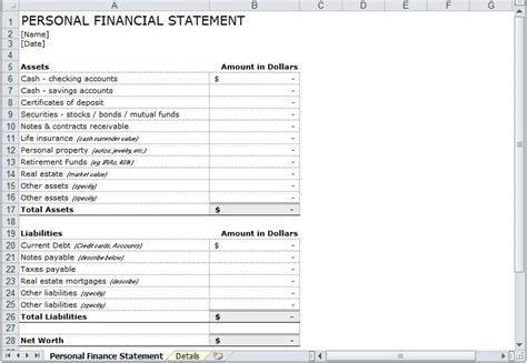 14 most important financial statement financial statement form