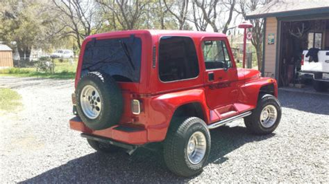 1993 Jeep Value 1993 Jeep Wrangler Renegade Yj For Sale Photos Technical