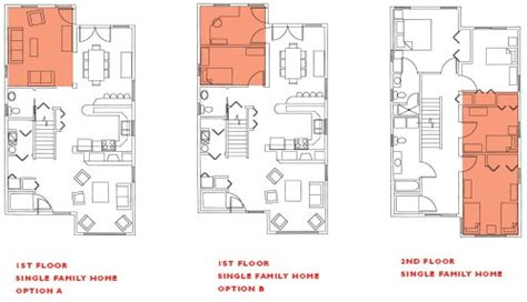 straight floor plan flexible