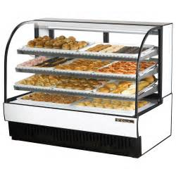 Bakery Glass Display Cabinet True Tcgd 59 60 Quot Curved Glass Dry Bakery Display Case