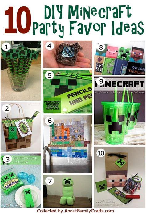 minecraft craft ideas for minecraft favors on minecraft