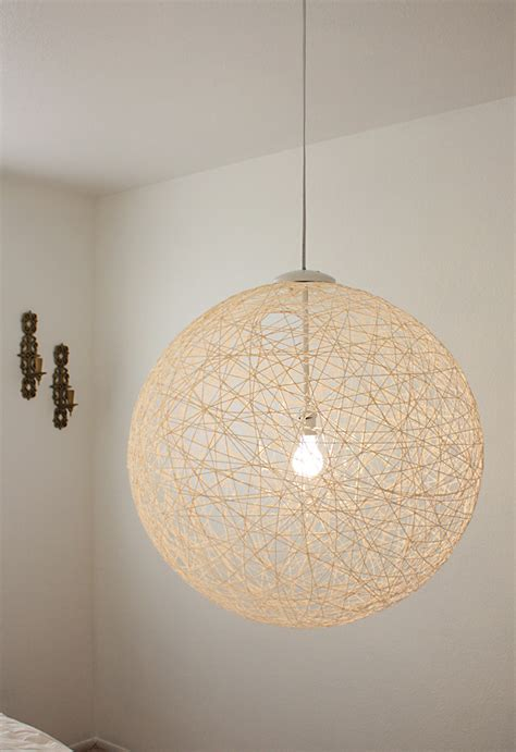 String Pendant L Diy by 7 Chic Diy Chandeliers To Brighten Your Classic Home
