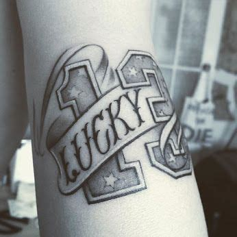 number 13 tattoo designs 17 best ideas about number 13 tattoos on