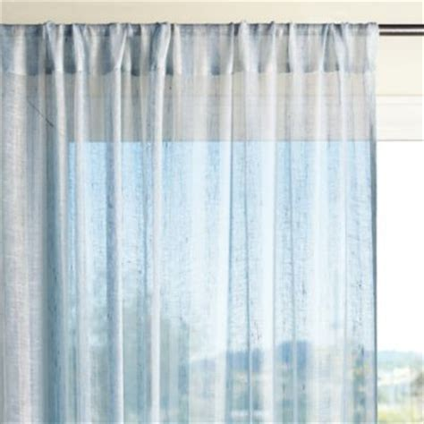 blue chambray curtains linen stripe window panel chambray traditional curtains
