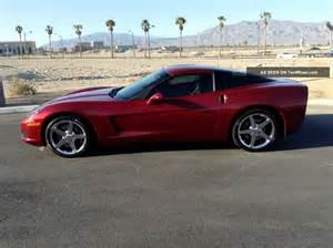 2007 chevrolet corvette 3lt desert car