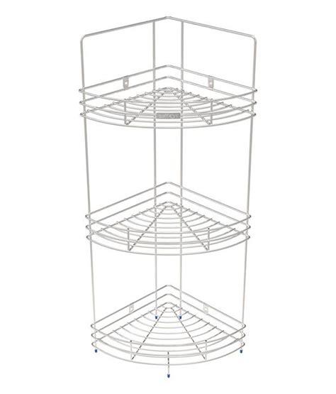 Shelf Of Saffron by Buy Saffron Stainless Steel Corner Shelf
