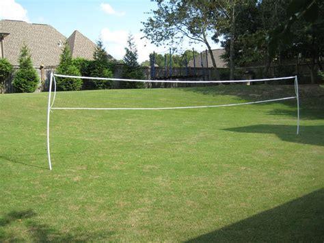backyard volleyball set wireless pvc badminton volleyball net