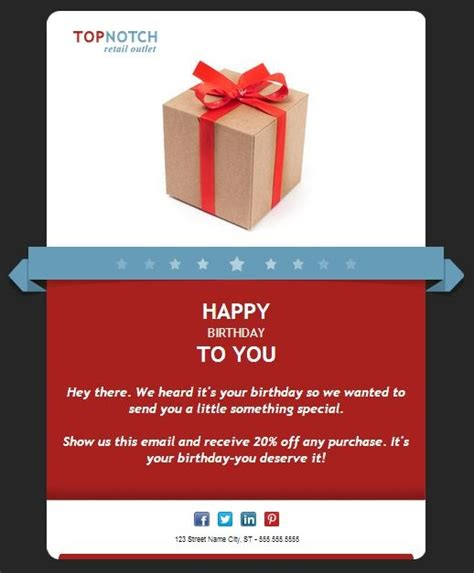 birthday email templates 92 best images about email templates from constant contact