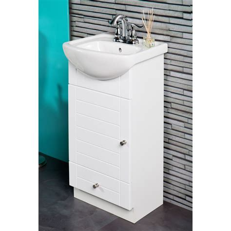 16 inch bathroom sink fixtures 16 inch vanity with vitreous china