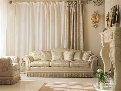 divani eleganti in tessuto divano classico di lusso per eleganti salotti idfdesign