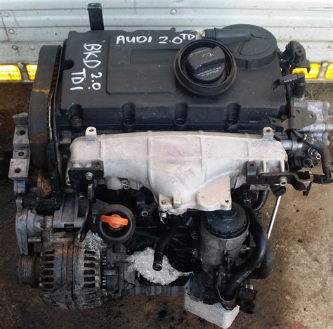 audi 2 0 tdi turbo audi vw 2 0tdi complete engine bkd matadoor salvage