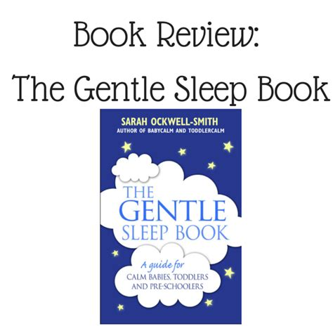 the gentle sleep book book review the gentle sleep book single mother ahoy