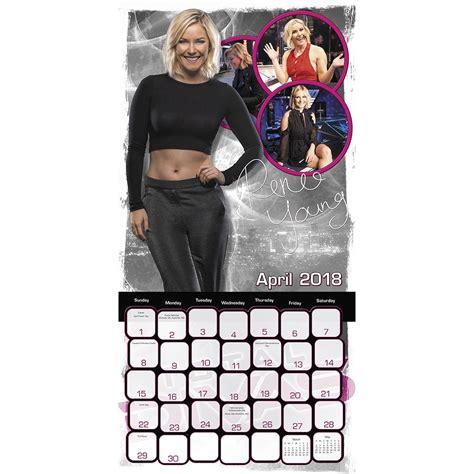 Calendar Wwf Divas 2018 Wall Calendar 9781682099889 Calendars