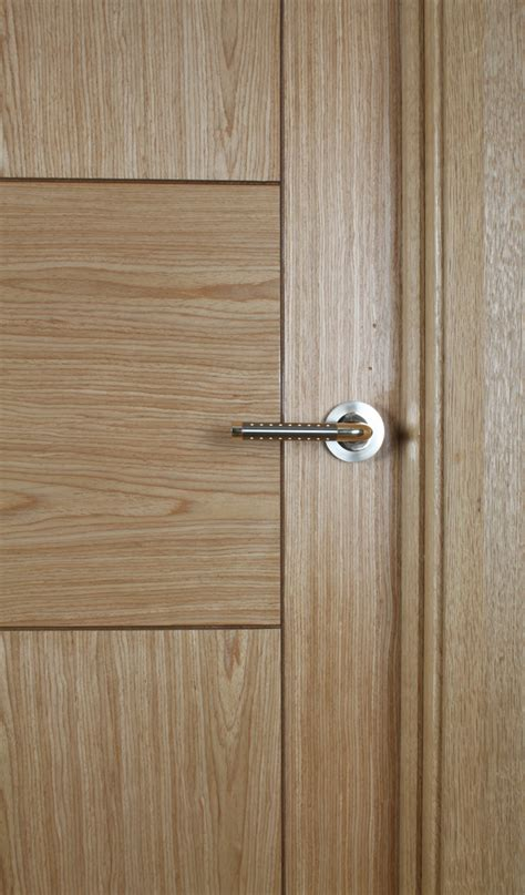 Monza White Oak Door (40mm)   Internal Doors   Oak Doors