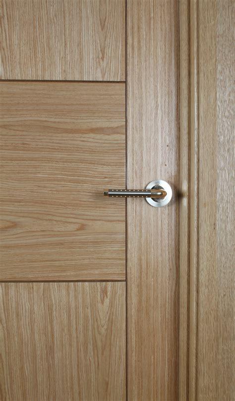 Monza White Oak Door (40mm)   Internal Doors   Oak Doors
