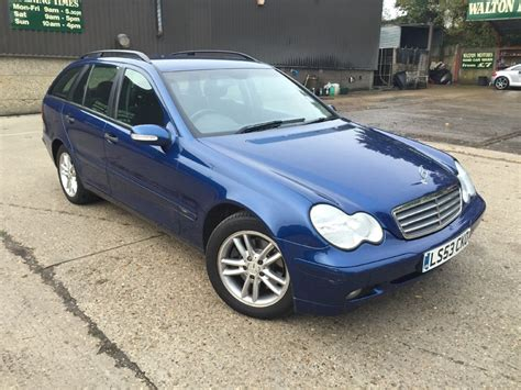 Mercedes C240 For Sale by Used Mercedes C Class C240 Classic For Sale In Cranleigh