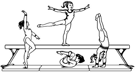 coloring page gymnastics the huddle coloring pages