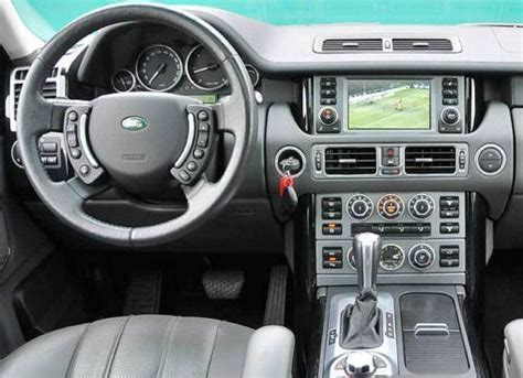 land rover 2007 interior land range rover touch screen parkmyauto s blog