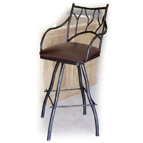 Wrought Iron Bar Stool Barstools Counter Stools For Kitchen Seating Humble Abode