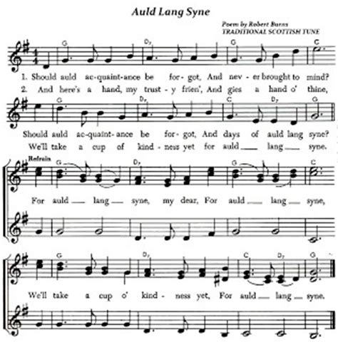 new year song pdf robert burns sheet and poem on