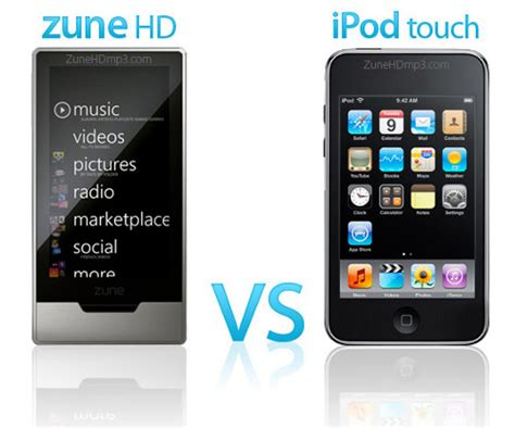 Rumour Fuel Added To The Microsoft Zune About New Models by Zune Hd S On The Way Is The For Ipod Touch