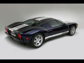 2005 Ford Gt 2005 Ford Gt Blue Rear Angle Studio 1600x1200
