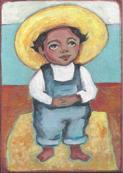 Diego Rivera Famous Artwork by Karen Haring Art Little Diego Rivera Original Painting