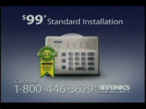brinks home security comercial