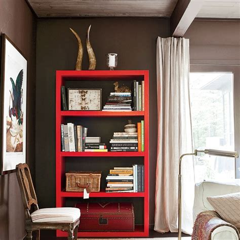 simple bookshelves simple decorated bookshelves with antique chest