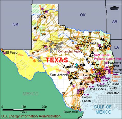 texas refineries map peak production from the top five u s producing states increased during 2011