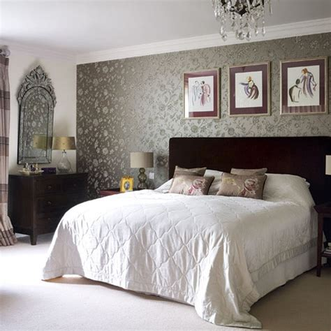 Grey Vintage Bedroom Wallpaper Bedroom Ideas Designs Housetohome Co Uk