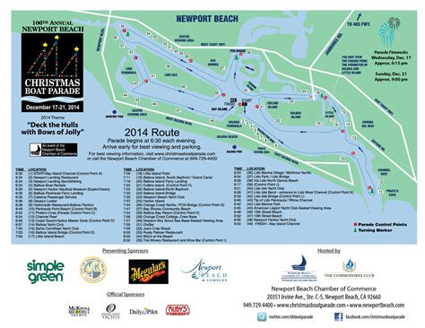 newport beach boat parade route and times christmas boat parade is coming save newport