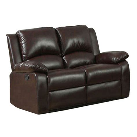 upholstery oxford furniture of america oxford rustic dark brown leatherette