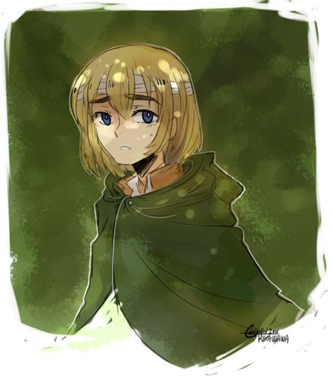 doodle rika snk armin doodle by rika wawa on deviantart