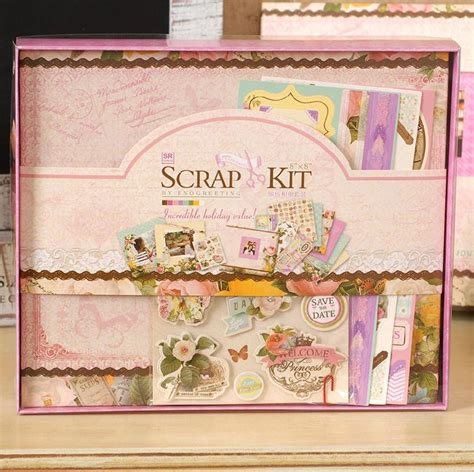 wedding scrapbook album kit new 2015 scrapbooking photo album scrapbook diy book kit