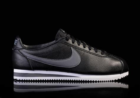 Sepatu Nike Cortez Black Textile nike classic cortez leather black for 77 50 basketzone net