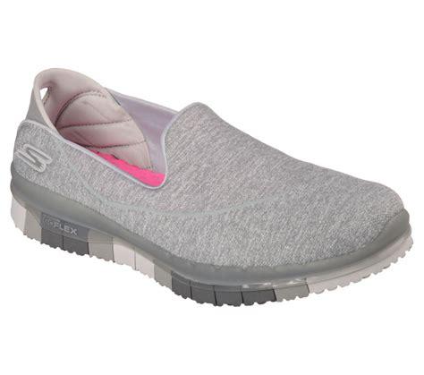 skechers walking shoes skechers 14010 gry s go flex walking shoes ebay