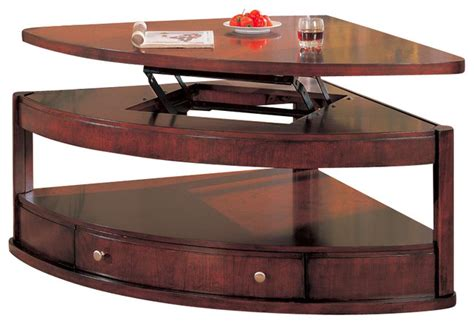 pie shaped lift top coffee table pie shaped lift top coffee table magnussen t1367 65 pie