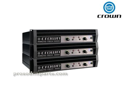 Power Lifier Crown Macro Tech crown ma9000i lifier