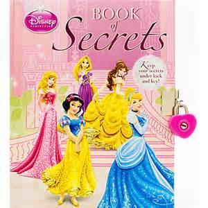 Disney princess book of secrets multi princess products disney