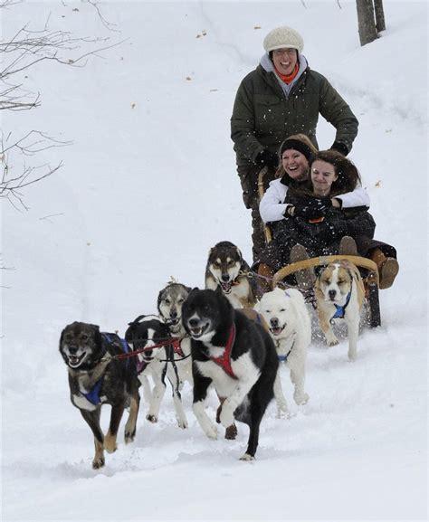 sledding michigan pin sledding northern michigan sled adventures on