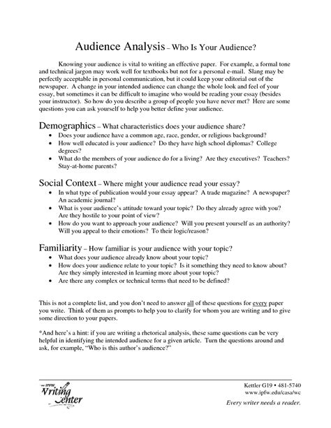Exles Of An Analysis Essay by Professional Masters Rhetorical Analysis Essay Advice